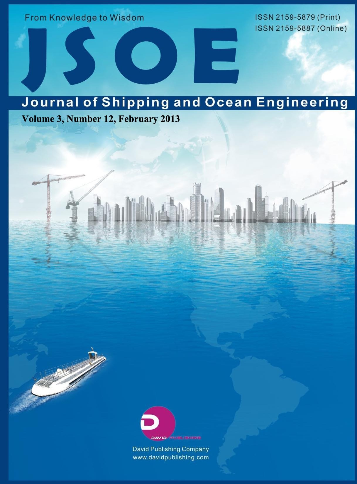 Journal of Shipping and Ocean Engineering