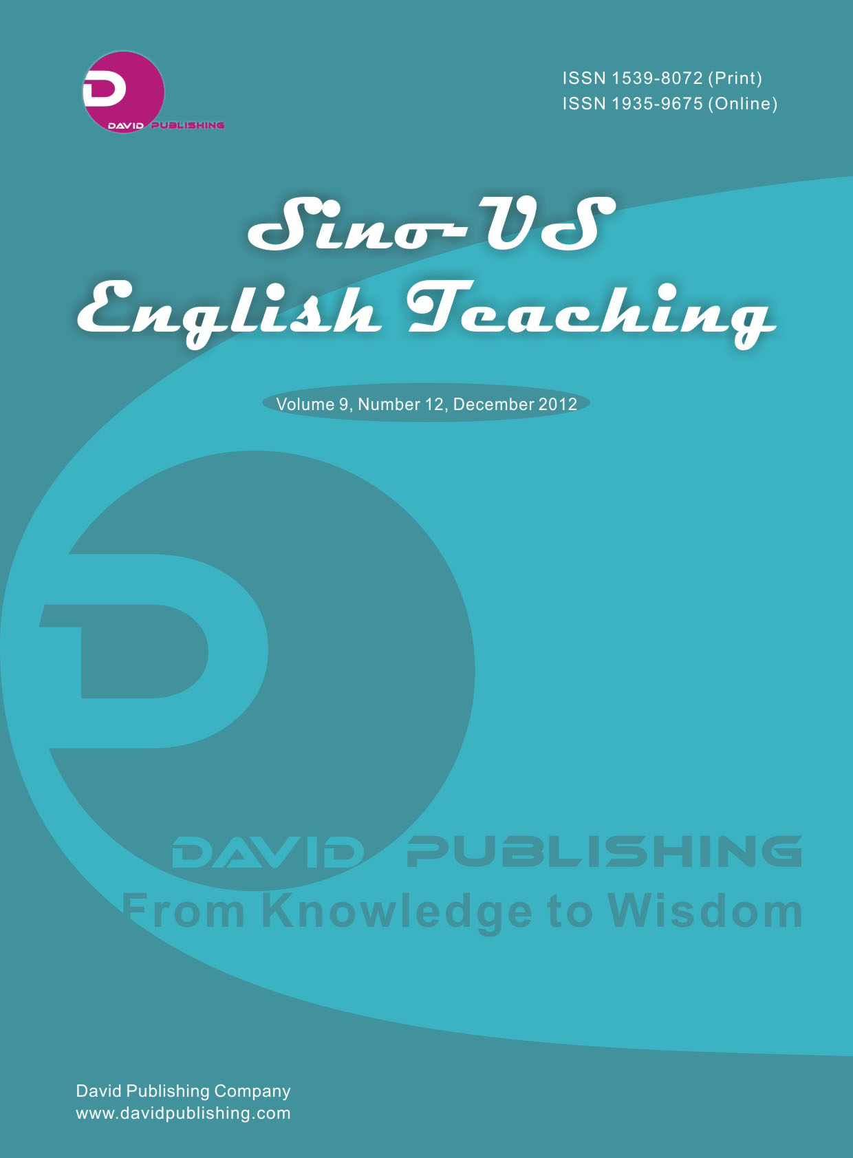 Sino-US English Teaching