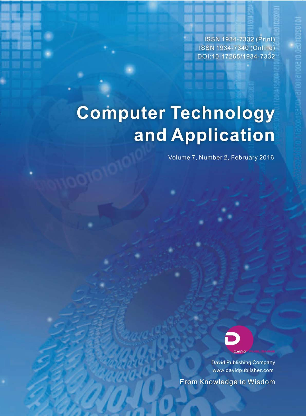 Computer Technology and Application