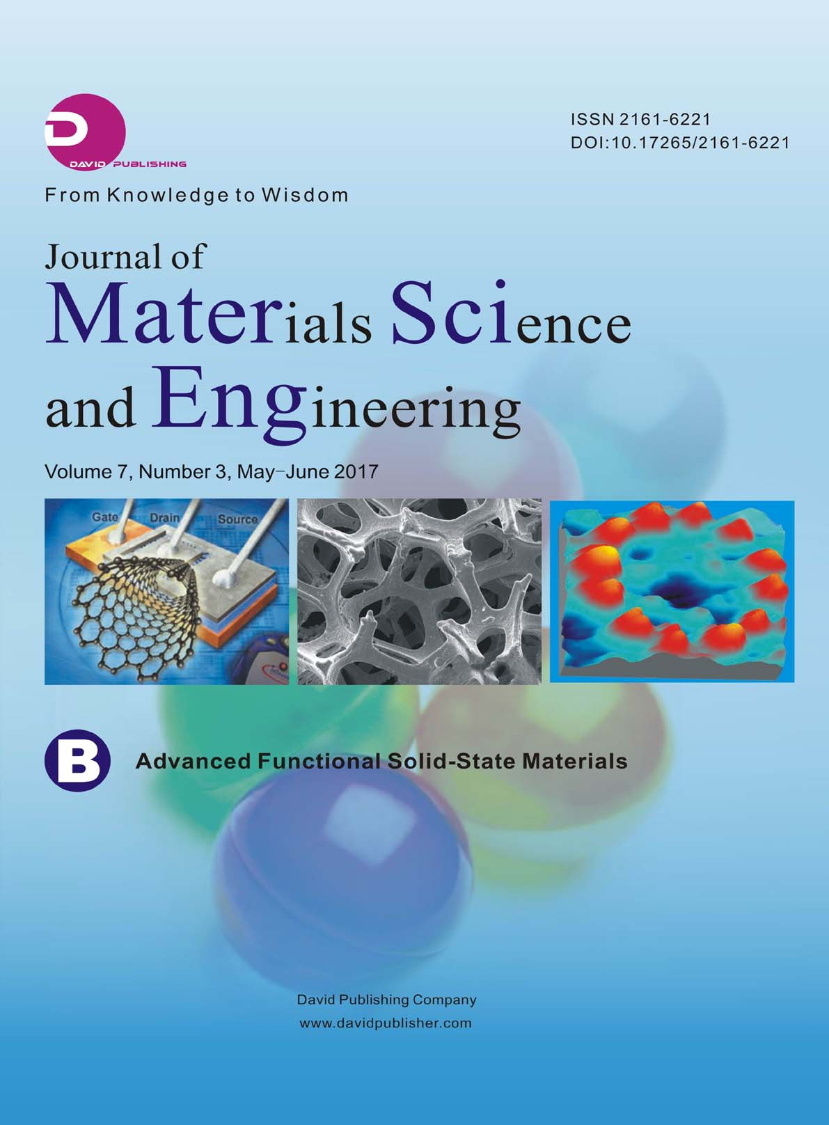 Journal of Materials Science and Engineering B