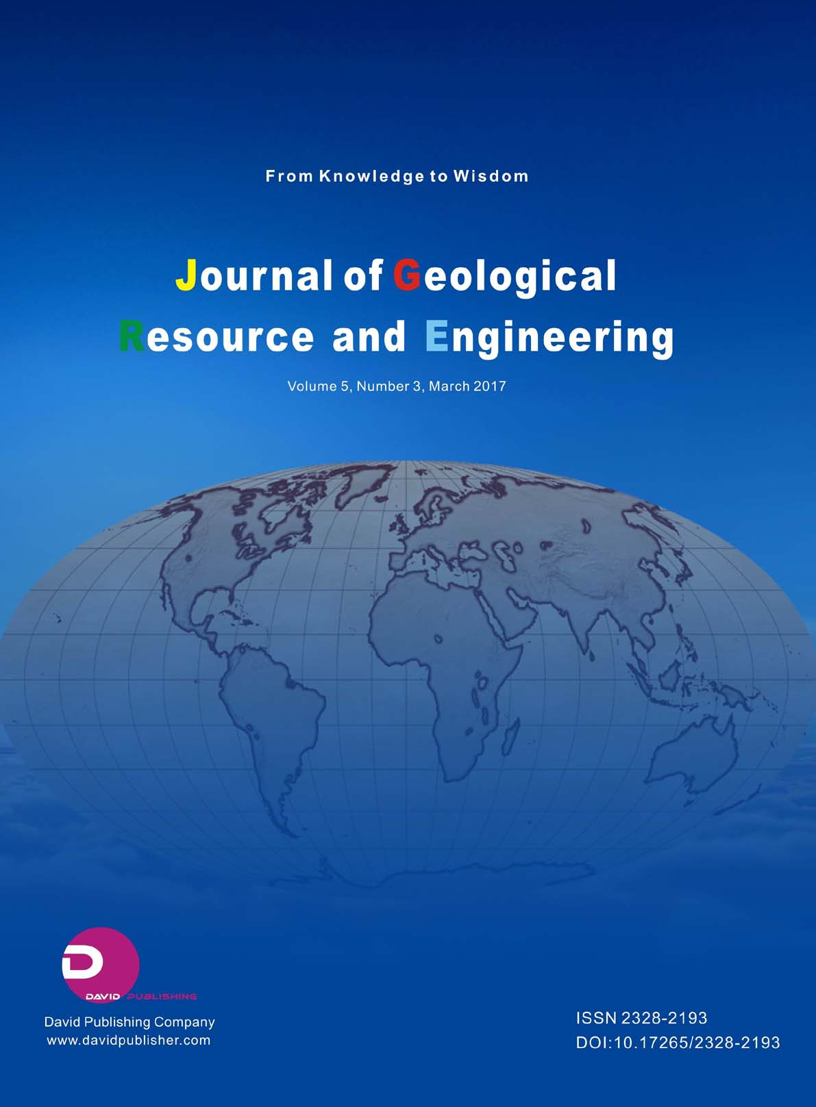 Journal of Geological Resource and Engineering